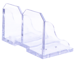 Snow defender snow guard buster polycarbonate plastic metal roofing
